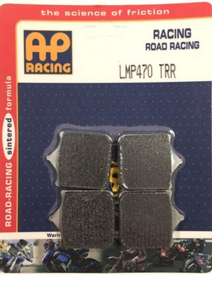 Pastilha de freio Super Racing AP Racing LMP 470 TRR