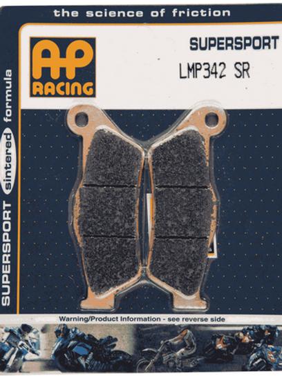 Pastilha de freio SINTERIZADA AP Racing LMP 342 SR