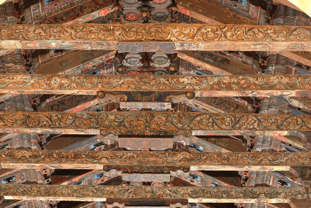 Soffitto ligneo della Cattedrale