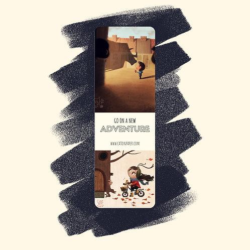 8. 'Giant' & 'Autumn Girl' Bookmark