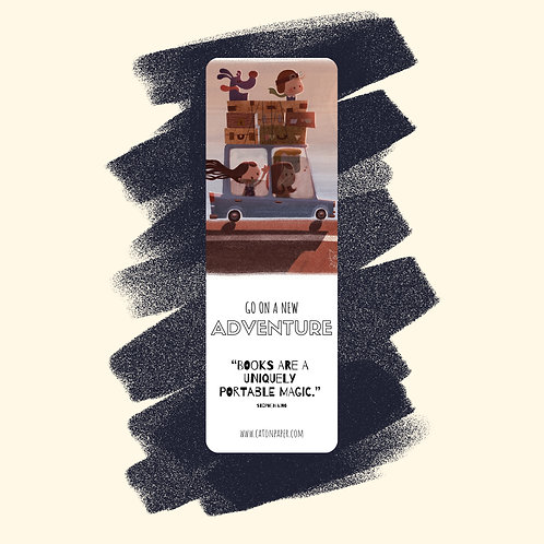 10. 'Parade' or 'Family Trip' Bookmark
