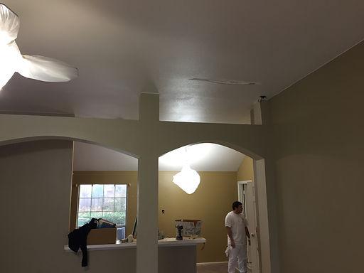 Joe's Painting Interior Painting Before