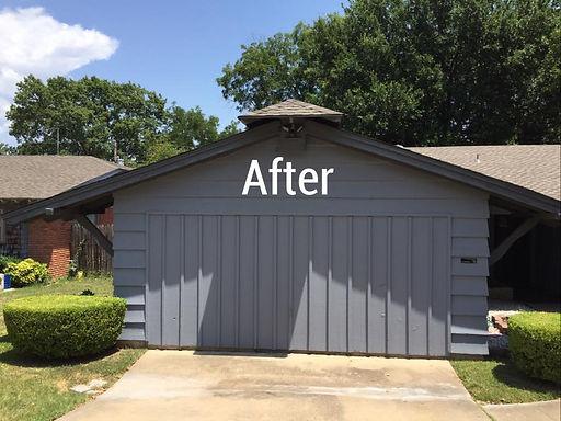 Joe's Painting Garage After