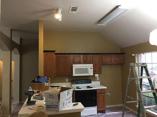 Joe's Painting Kitchen Before