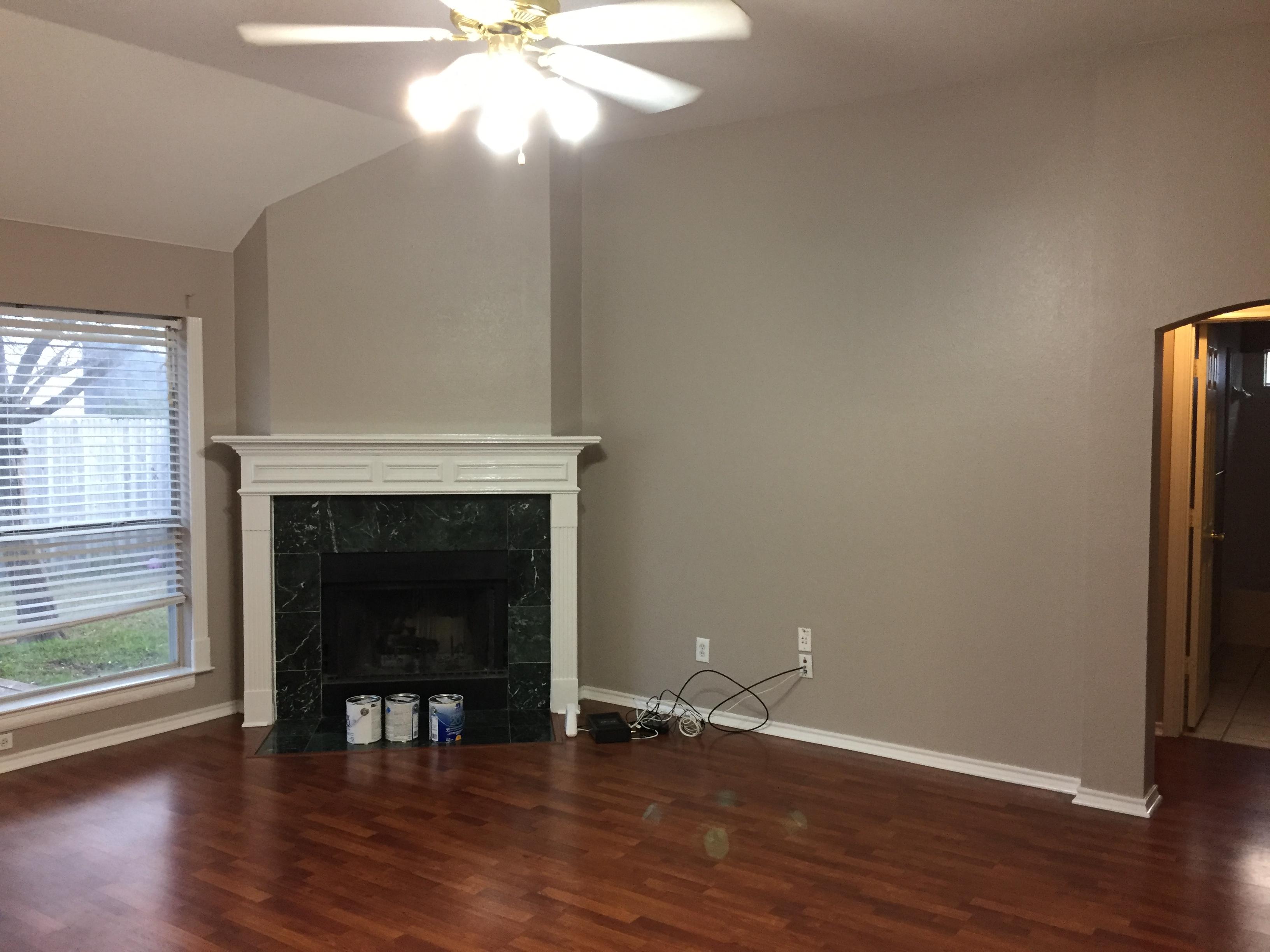 Joe's Painting Painted Living Room