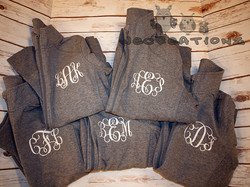 monogram jackets