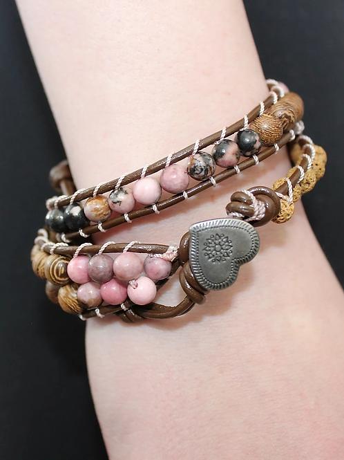Double Wrap Crystal Bracelets