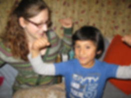 Child Therapy helping shy child in London