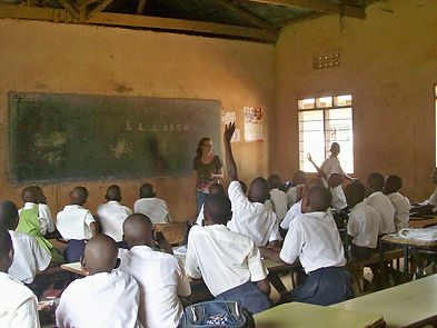Confident Children workshops for shy children raising self-esteem Uganda  orphans
