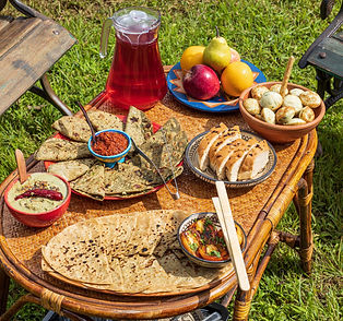 Fresh Organic Breakfast at Avabodha   Villa at Panchgani