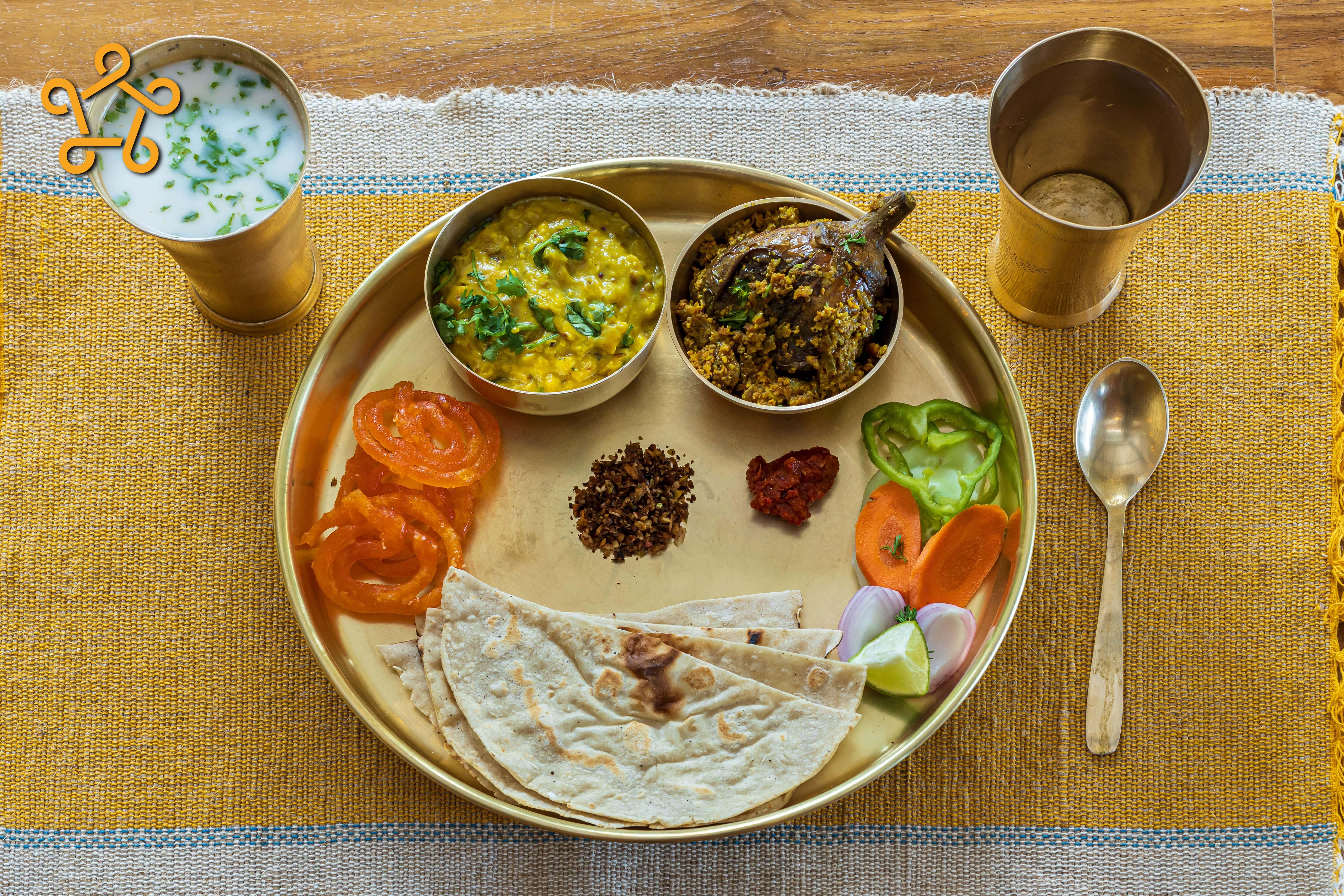 Lunch at Avabodha