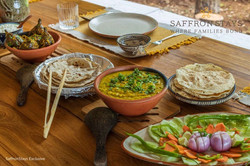 Fresh organic food at Avabodha