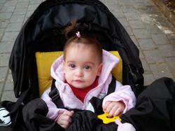 Noga Fuchs, born in 2011 just between Shai Fuchs pediatric residency and start of PhD