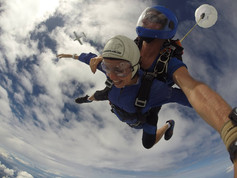 skydiving in Auckland