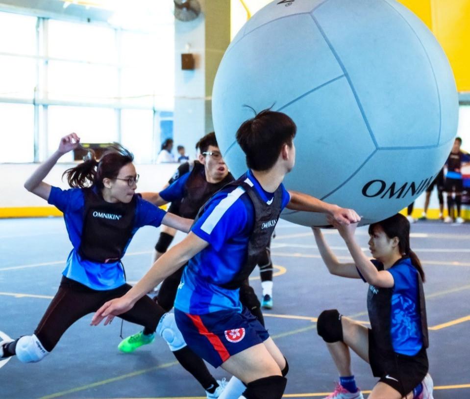 Hong Kong Kin-Ball Association       香港健球總會