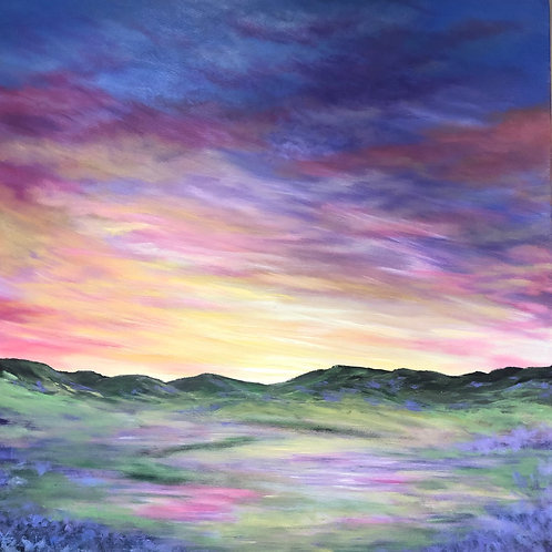 Heather in the Highlands - Open Edition Print