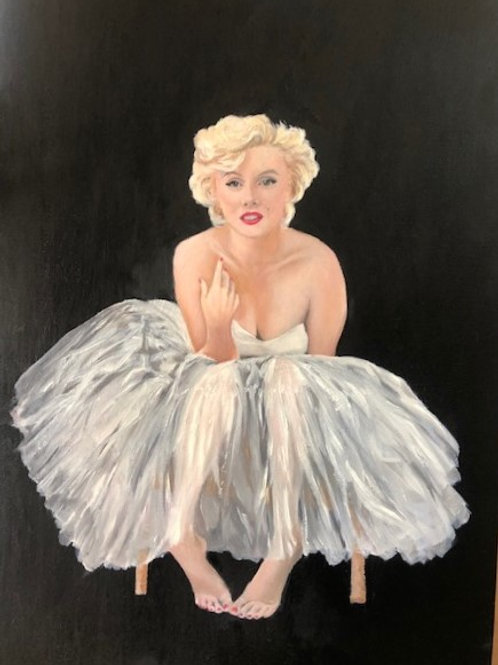 Marilyn - Original Oil Painting