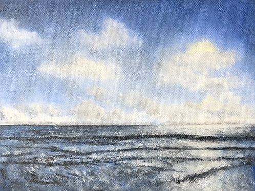 Dark Waters Mini Painting