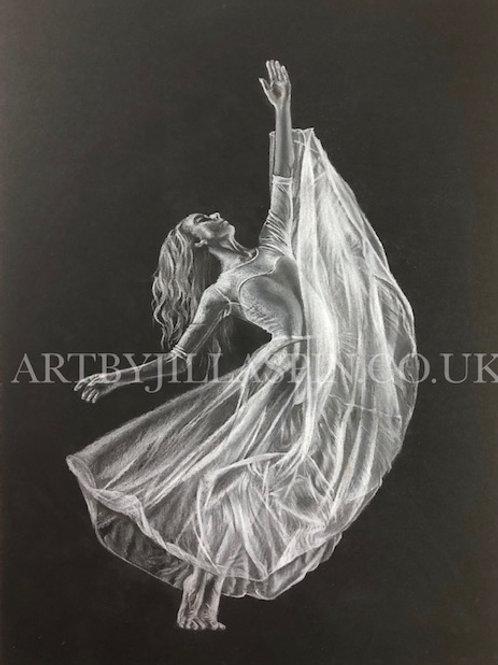 'Mind' Ballet Dancer - Limited Edition Print