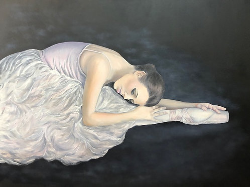 Repose - Original Oil Painting