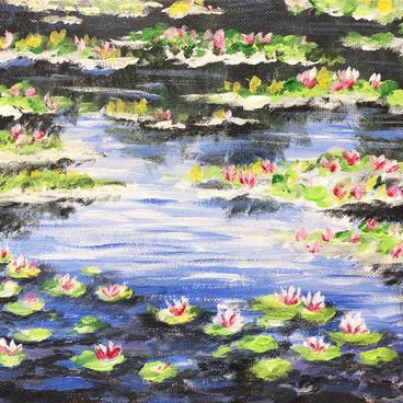 Waterlily Mini Painting
