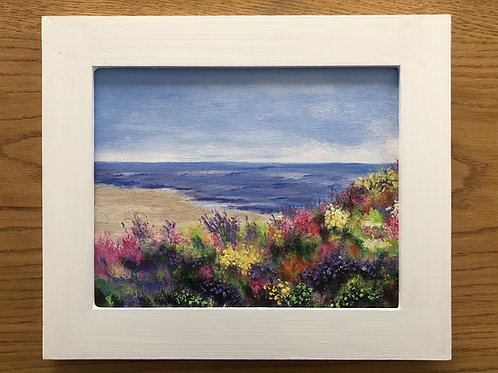 Overlooking the Bay Mini Painting