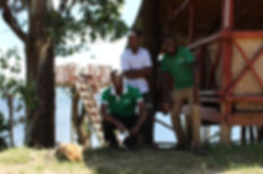 Staff at Mutanda Eco Community Centre