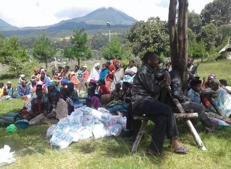 Over 300 households in the Mgahinga community in Kisoro, Uganda receive COVID-19 emergency relief