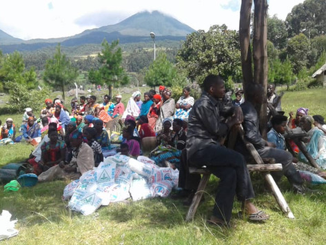 Over 300 households in the Mgahinga community in Kisoro, Uganda receive COVID-19 emergency relief