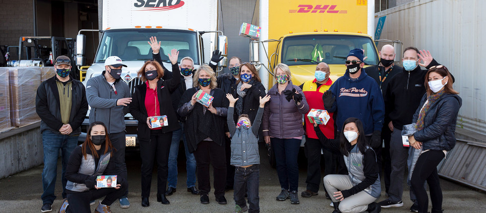 FLTR Continues Its Commitment to Giving With Millions of Masks for Children Donation