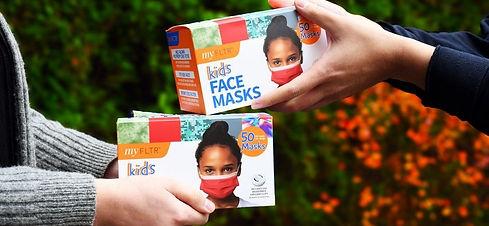 donation of child masks