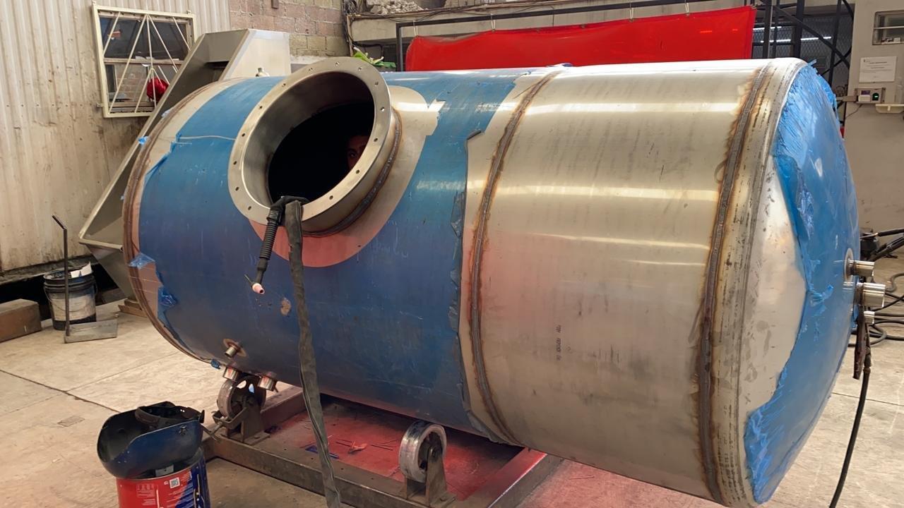 Fabricacion Tanque Acero Inoxidable