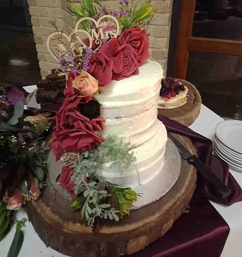 cake, bread, rolls stall