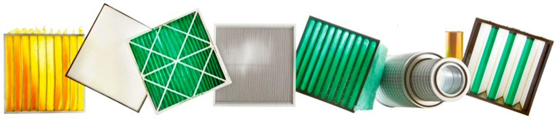 Filtros de Aire para HVAC, Procesos, Turbinas, Coleccion de Polvo, Camfil Farr