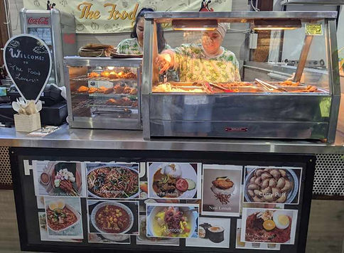 malaysian food stall
