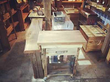 mal's rustic & recycled furniture 400x30
