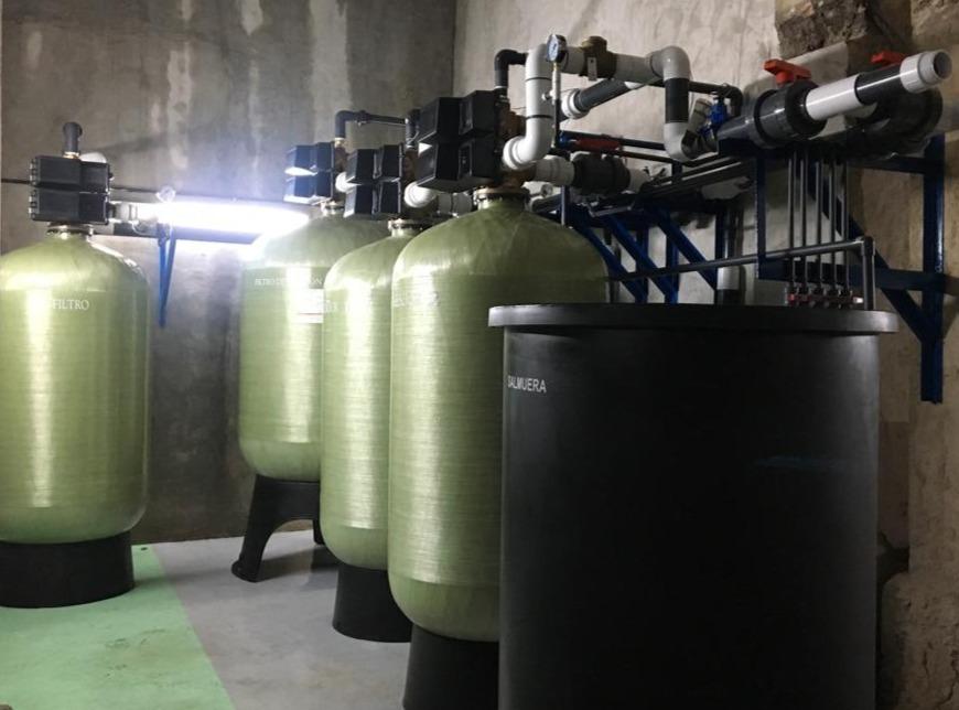 Sistema de Tratamiento de Agua - Agua Caliente