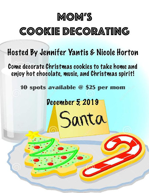 Mom\'s Cookie Decorating