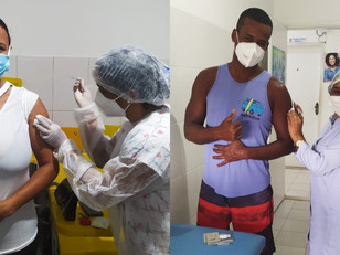 WG recebeu quase 30 mil doses de vacina contra a Covid-19 e alcançou 93,4% de vacinados com 1ª dose