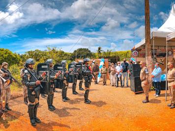 MARAÚ: Base da CIPE Cacaueira é inaugurada no Povoado do Caubi (BR 030)