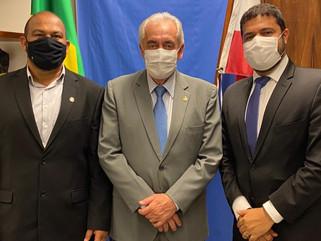 Prefeitos de Wenceslau Guimarães e Gandu cumprem agenda em Brasília