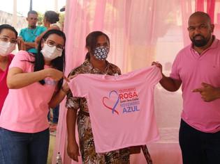 OUTUBRO ROSA: Prefeitura de Wenceslau encerra atividades do mês de prevenção do Câncer de Mama