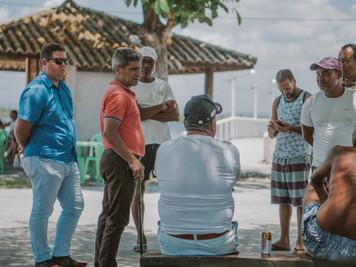 Deputado Raimundo Costa se reúne com moradores da Barra de Serinhaém e encaminha demandas pleiteadas