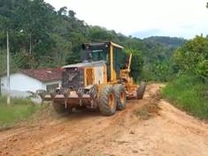 Wenceslau Guimarães: Mega operação beneficia estradas rurais do município