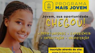"""Prefeitura de Ituberá lança Programa de Estágio """"Mais Jovem"""""""