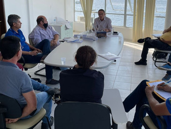 CAIRU: Prefeitura discute concessão dos serviços marítimos com concessionária e ASTRAM