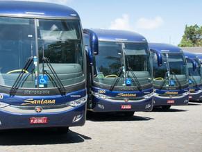 Ônibus que pertenciam à Santana são incorporados à Viação Cidade Sol