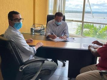 CAIRU: Novo Termo Aditivo assinado com a Embasa prevê investimentos de R$ 43,19 milhões