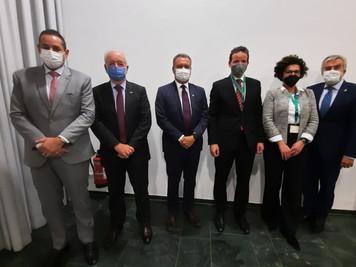 Rui Costa é recebido por secretário de Governo Alemão e firma compromisso para futuros investimentos