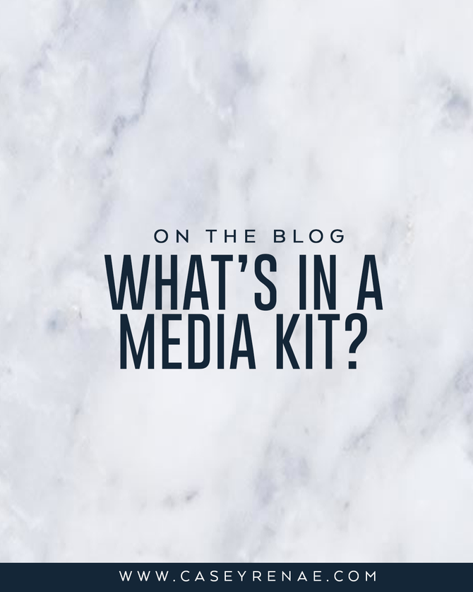What's In A Media Kit?